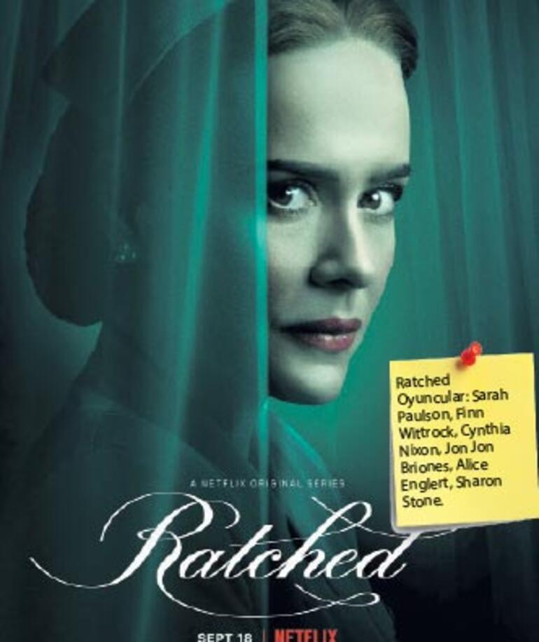Kötü hemşire Ratched artık dizi kahramanı