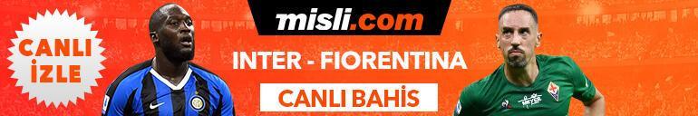 Inter - Fiorentina maçı Tek Maç ve Canlı Bahis seçenekleriyle Misli.com'da