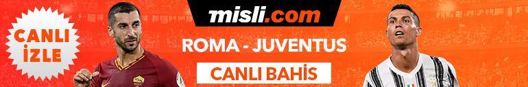 Roma - Juventus maçı Tek Maç ve Canlı Bahis seçenekleriyle Misli.com'da