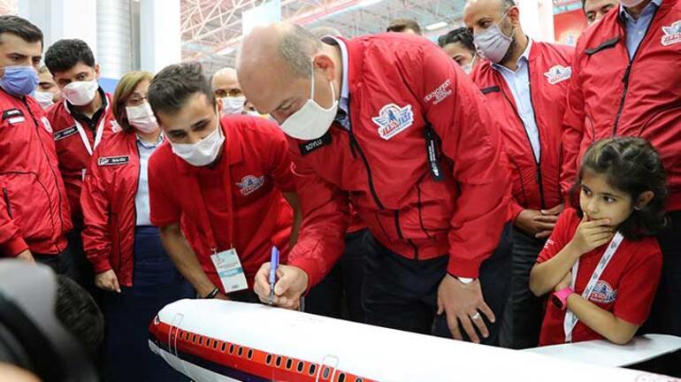 İçişleri Bakanı Süleyman Soylu TEKNOFESTi ziyaret etti