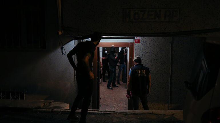İstanbulda eş zamanlı DEAŞ operasyonu Çok sayıda gözaltı var
