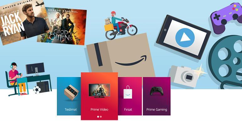Rekabet Artıyor Amazon Prime Türkiye'de…