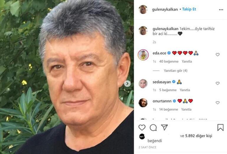 Tarık Ünlüoğlu'nun eşi Gülenay Kalkandan duygusal mesaj