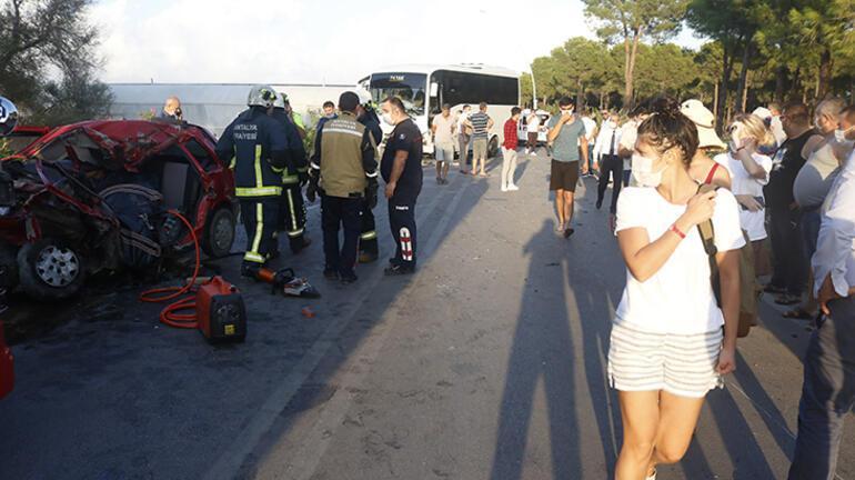 Antalyada feci kaza Henüz 27 yaşındaydı...