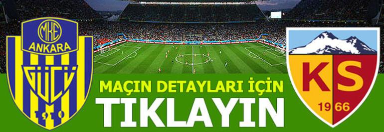 MKE Ankaragücü - Hes Kablo Kayserispor: 0-1