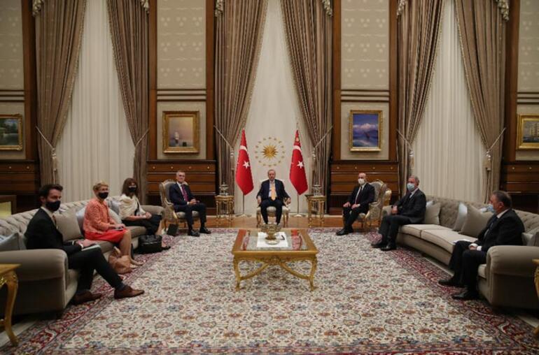 Son dakika: Cumhurbaşkanı Erdoğan, Stoltenbergi kabul etti