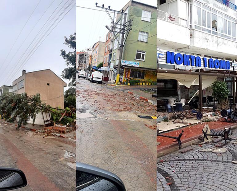 Son dakika Hortum İstanbulun yanı başını vurdu geçti