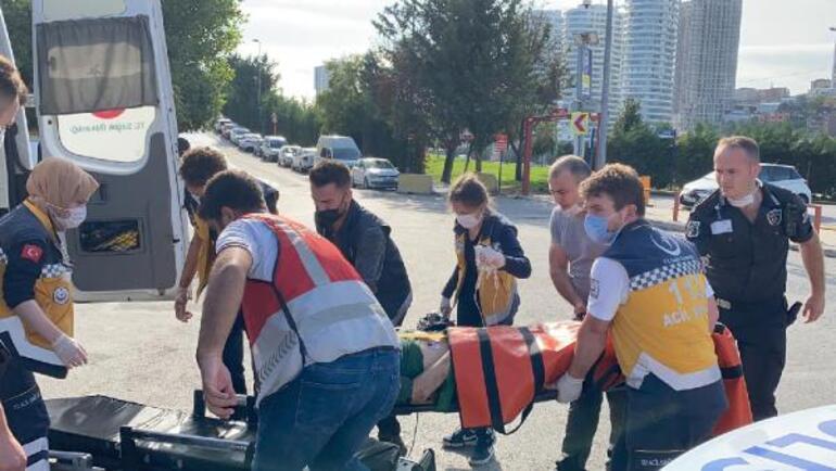 Üsküdarda metro raylarına atlayan kişi ağır yaralandı