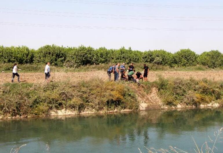 Adanada sulama kanalında ceset bulundu