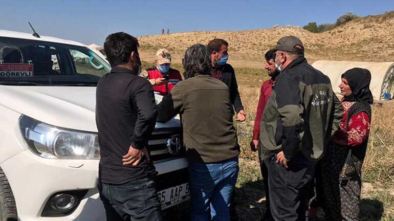 Edremit'te kafes avcıları jandarmaya takıldı
