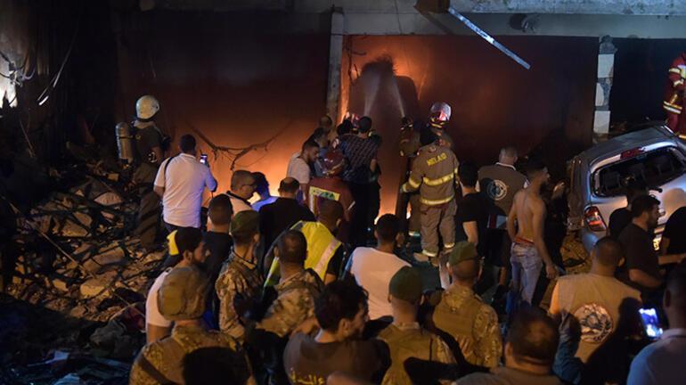 Beyrutta patlama 4 kişi hayatını kaybetti