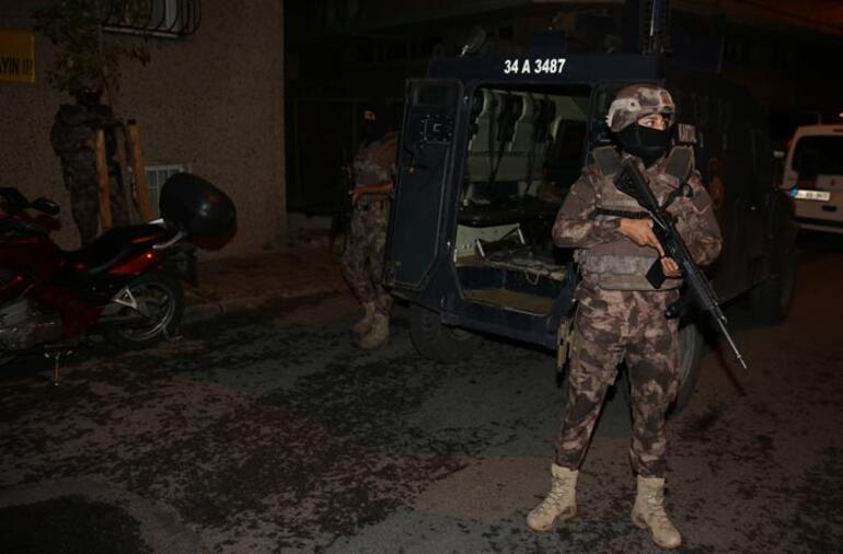 İstanbulda PKK'ya eş zamanlı operasyon