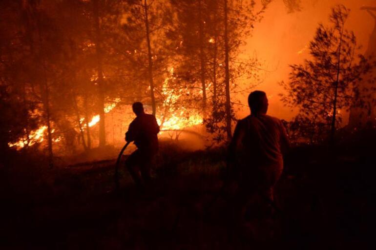 Kahramanmaraşta korkutan yangın Birçok ilden ekip geldi