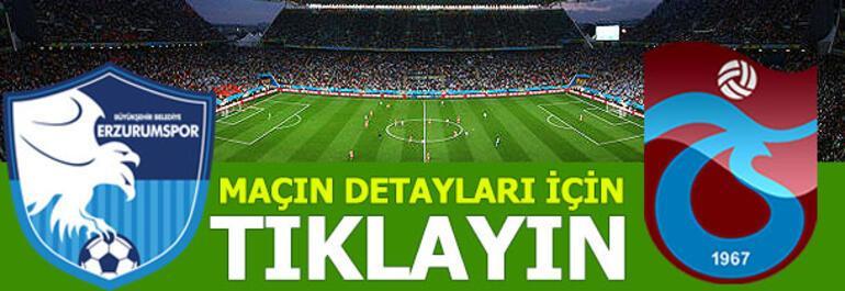 Erzurumspor - Trabzonspor: 2-1