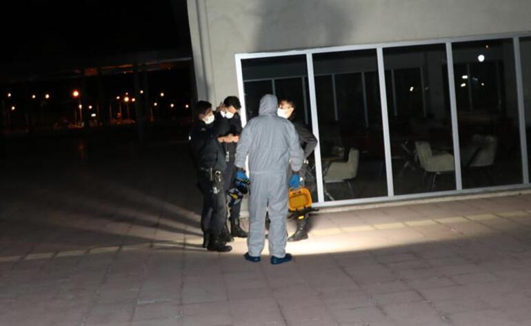 Hastaneden kaçmak isteyen korona hastası ağır yaralandı