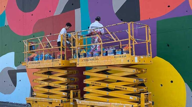 İBBnin konuşan duvarlar projesi devam ediyor