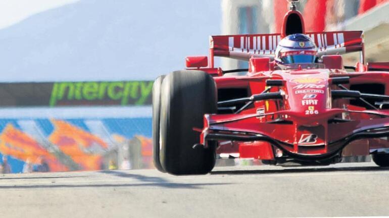 Formula 1 yarışına yepyeni asfalt
