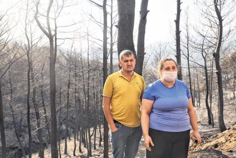 'Ateş bizi kovalıyordu'