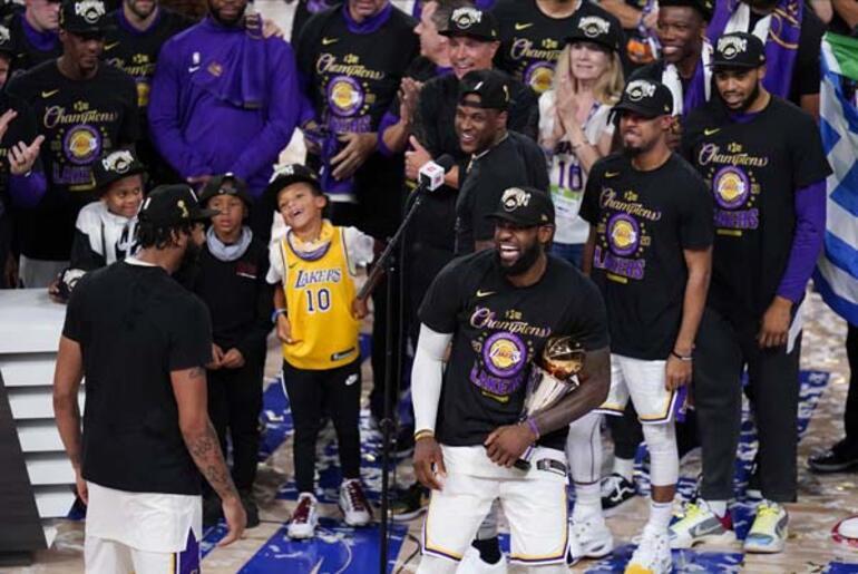 Son dakika... NBAde Los Angeles Lakers şampiyon oldu