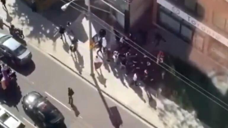 Son dakika: Kanadada Ermeniler Azerbaycanlılar ve Türklere saldırdı