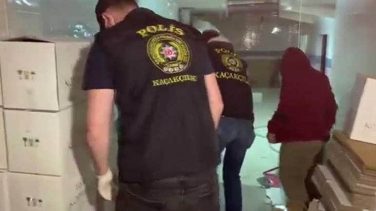 İstanbulda sahte içki deposu CNN TÜRK görüntüledi