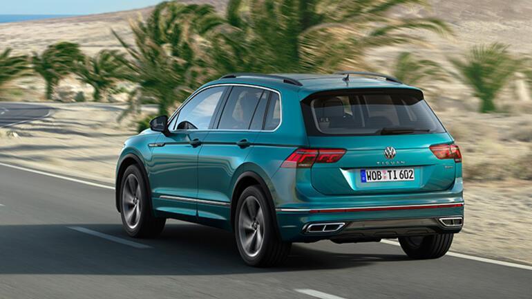 Volkswagen, Tiguan'ı yeniledi