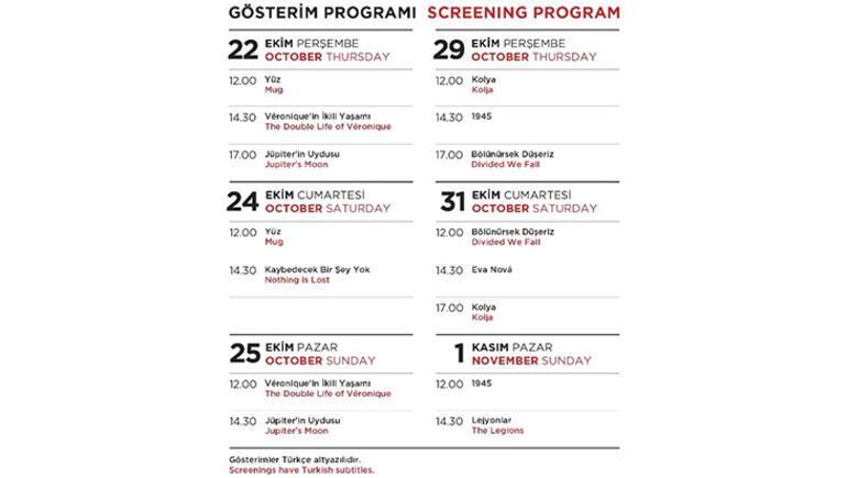 Vişegrad Ülkeleri filmleri İstanbul Modern Sinemada