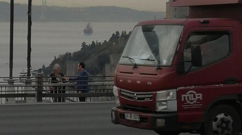 FSMde intihar girişimi trafiği kilitledi
