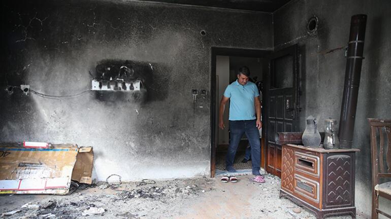 Yangın çıkan evinin bir odasını dava süreci nedeniyle 8 yıldır muhafaza ediyor