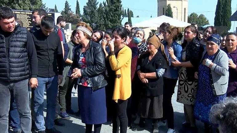 Ermenistan sivilleri vurdu Bebek ile annesi aynı tabutta