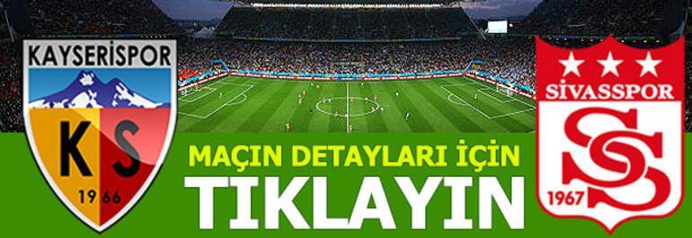 Kayserispor - Sivasspor: 1-3