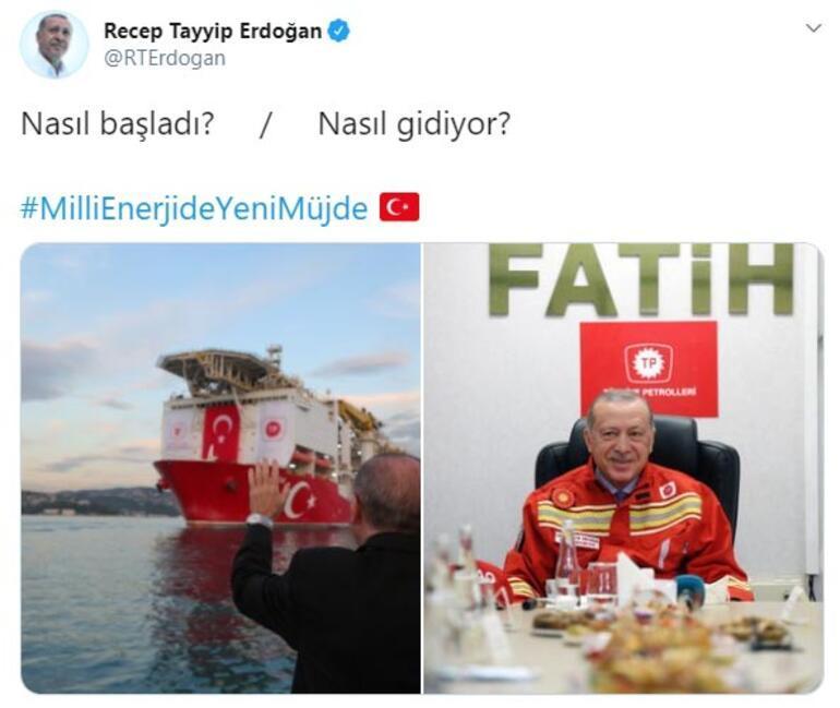 Cumhurbaşkanı Erdoğandan Fatih paylaşımı