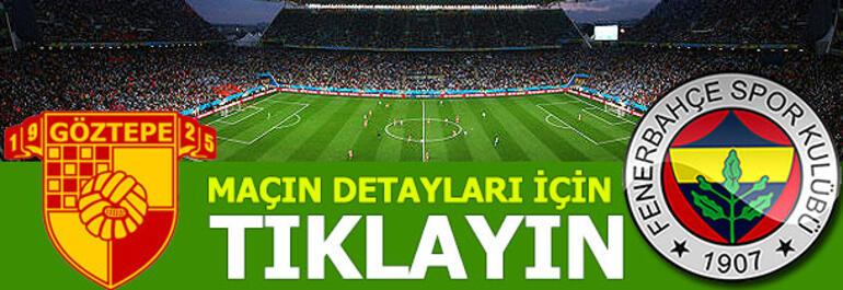 Göztepe - Fenerbahçe: 2-3