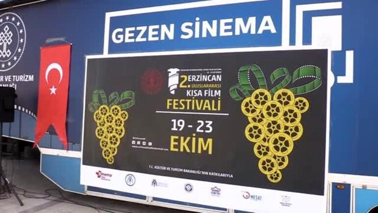 Erzincan 2. Uluslararası Kısa Film Festivali başladı
