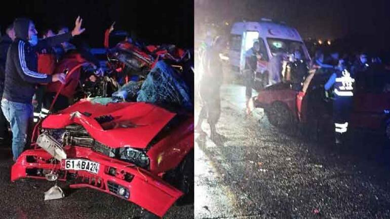 TIR'a çarpan otomobildeki Selin öldü, erkek kardeşi yaralı