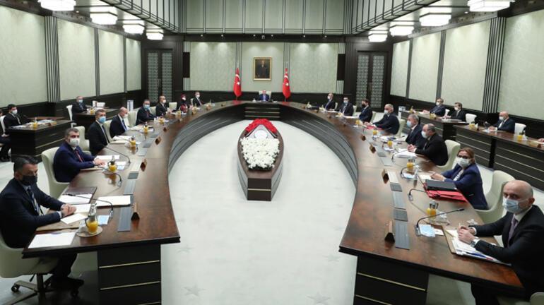 Son dakika... Cumhurbaşkanlığı kabinesi toplandı
