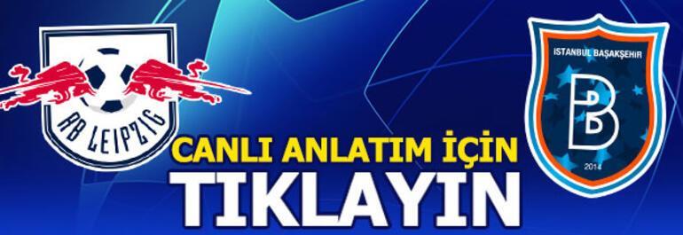 RB Leipzig - Başakşehir: 2-0