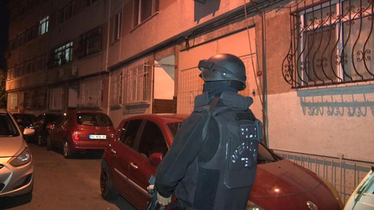 İstanbulda DEAŞ Operasyonu Çok sayıda gözaltı var