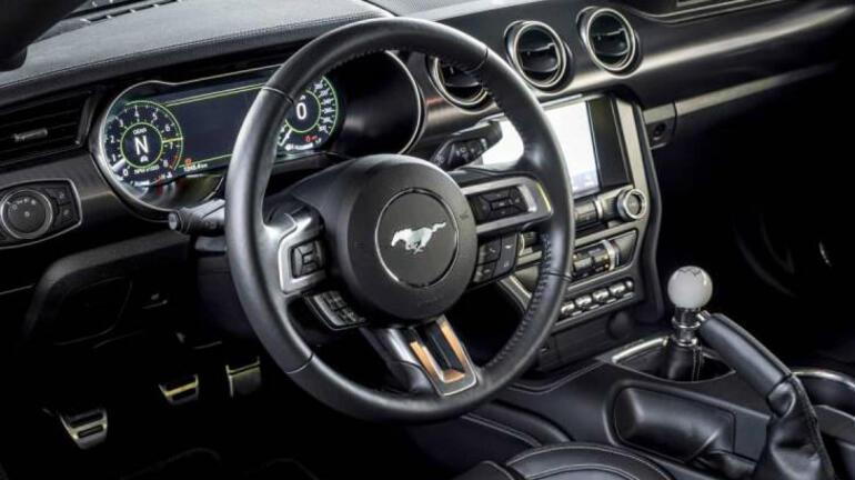 2020 Ford Mustang Mach 1 Avrupaya geldi