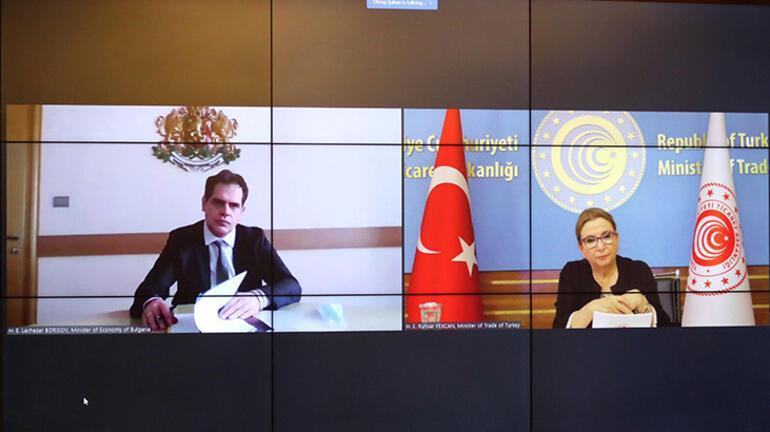 Bakan Pekcan, Bulgaristan Ekonomi Bakanı Borisov ile görüştü