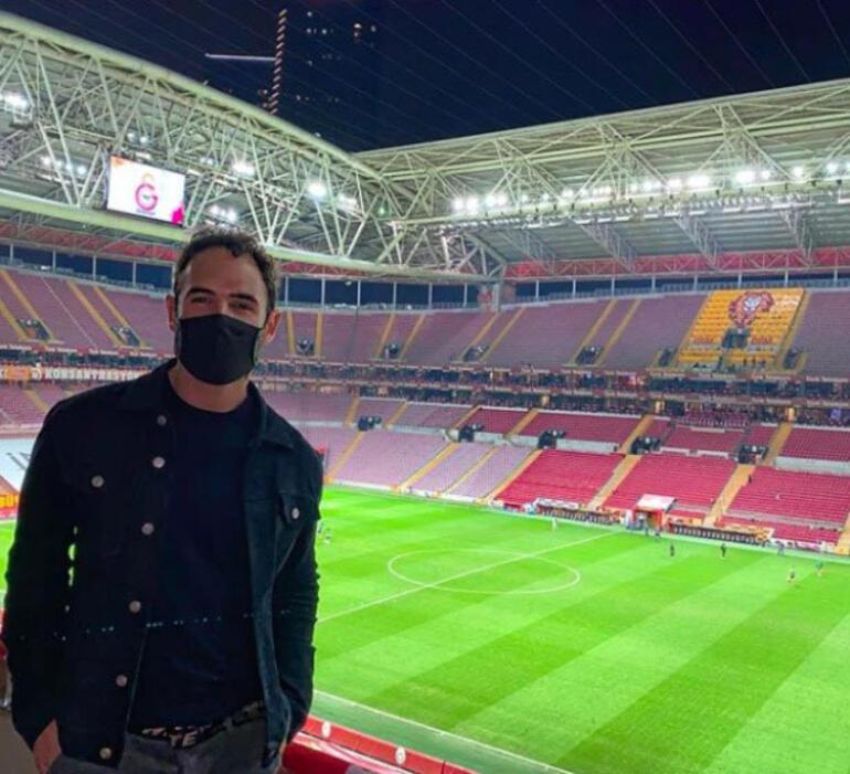 Quintero'nun menajeri Falcao için geldi Statta maç seyretti...