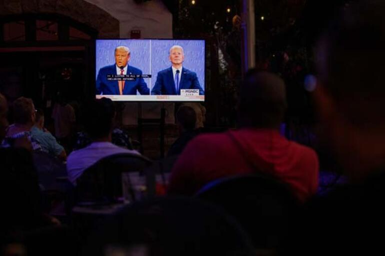 Son dakika: Trump-Biden dünyanın gözü önünde son kez çarpıştı Canlı yayında bomba sözler...