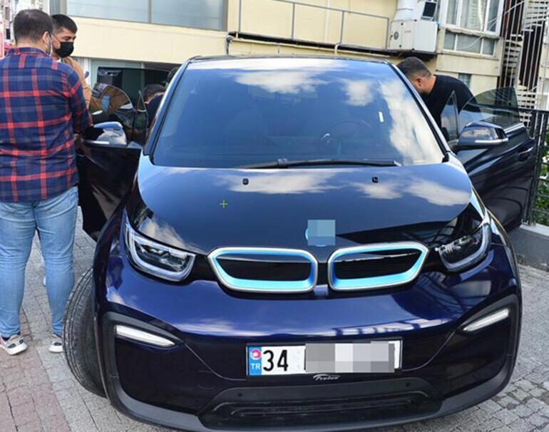 Mustafa Sandalın 350 bin TLlik elektrikli aracı