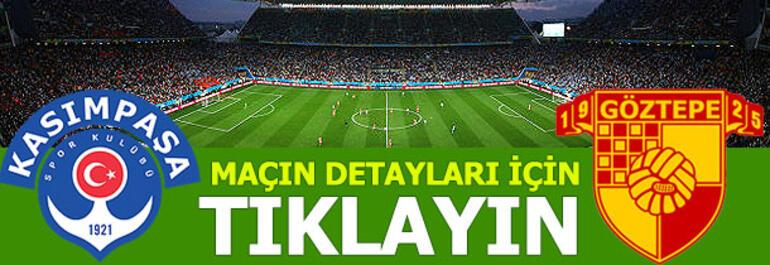 Kasımpaşa - Göztepe: 0-0