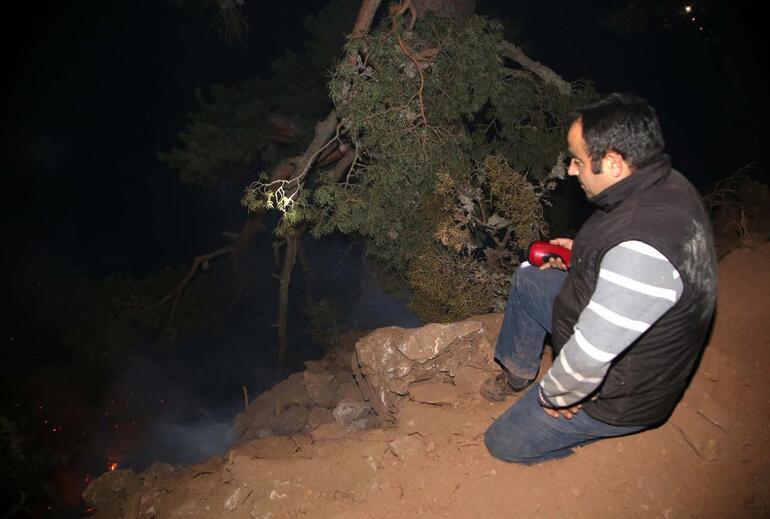 Kastamonuda korkutan orman yangını