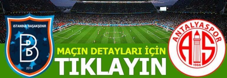 Başakşehir-Antalyaspor: 5-1