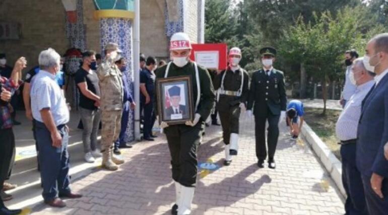 Kırıkhanda Kore gazisi son yolculuğuna uğurlandı