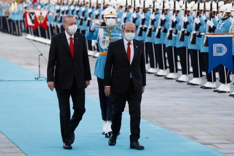 Son dakika KKTC Cumhurbaşkanı Tatar Beştepede