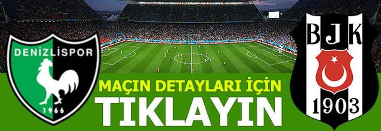 Denizlispor - Beşiktaş: 2-3