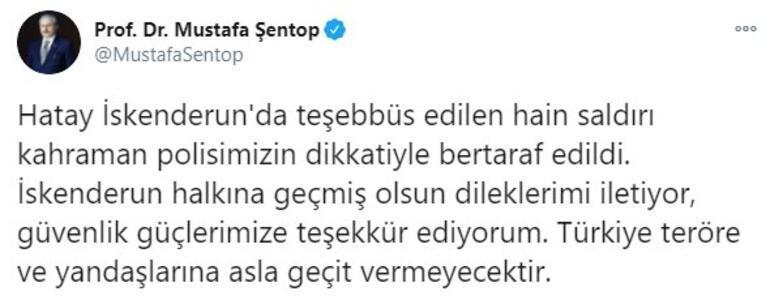 TBMM Başkanı Şentop: Türkiye teröre ve yandaşlarına asla geçit vermeyecektir